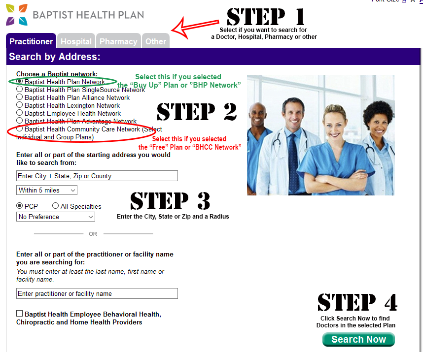 Health Plan Search